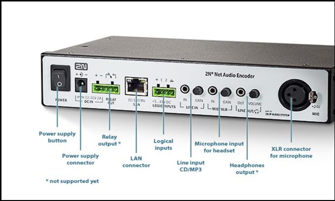 2N Net Audio Encoder